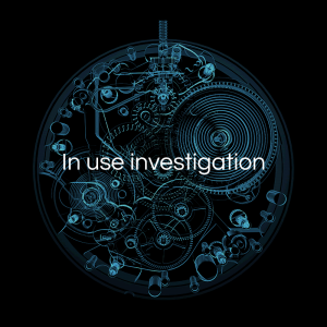 In use investigation